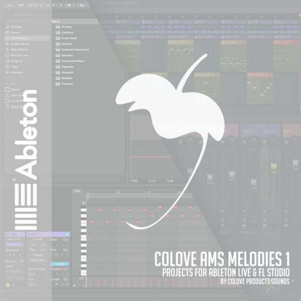 COLOVE AMS Melodies 1 (Ableton + FL Studio)