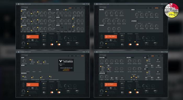 Novation V-Station Razor v1.0