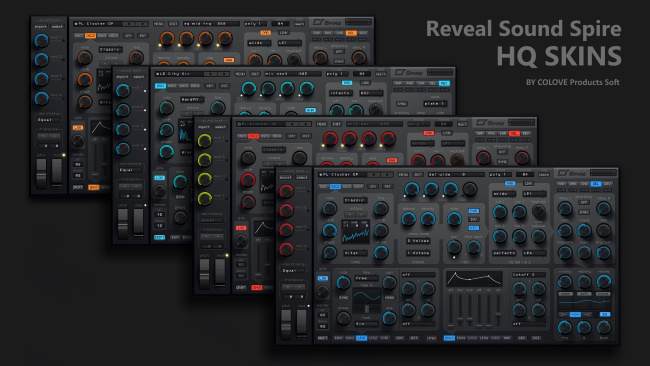 Reveal Sound – Spire HQ v1.2 (Windows/Mac/4 Skins)