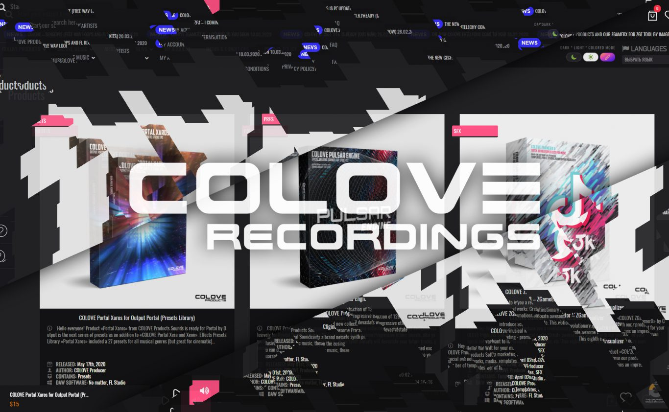 COLOVE Update v1.8 is ready (Out now)