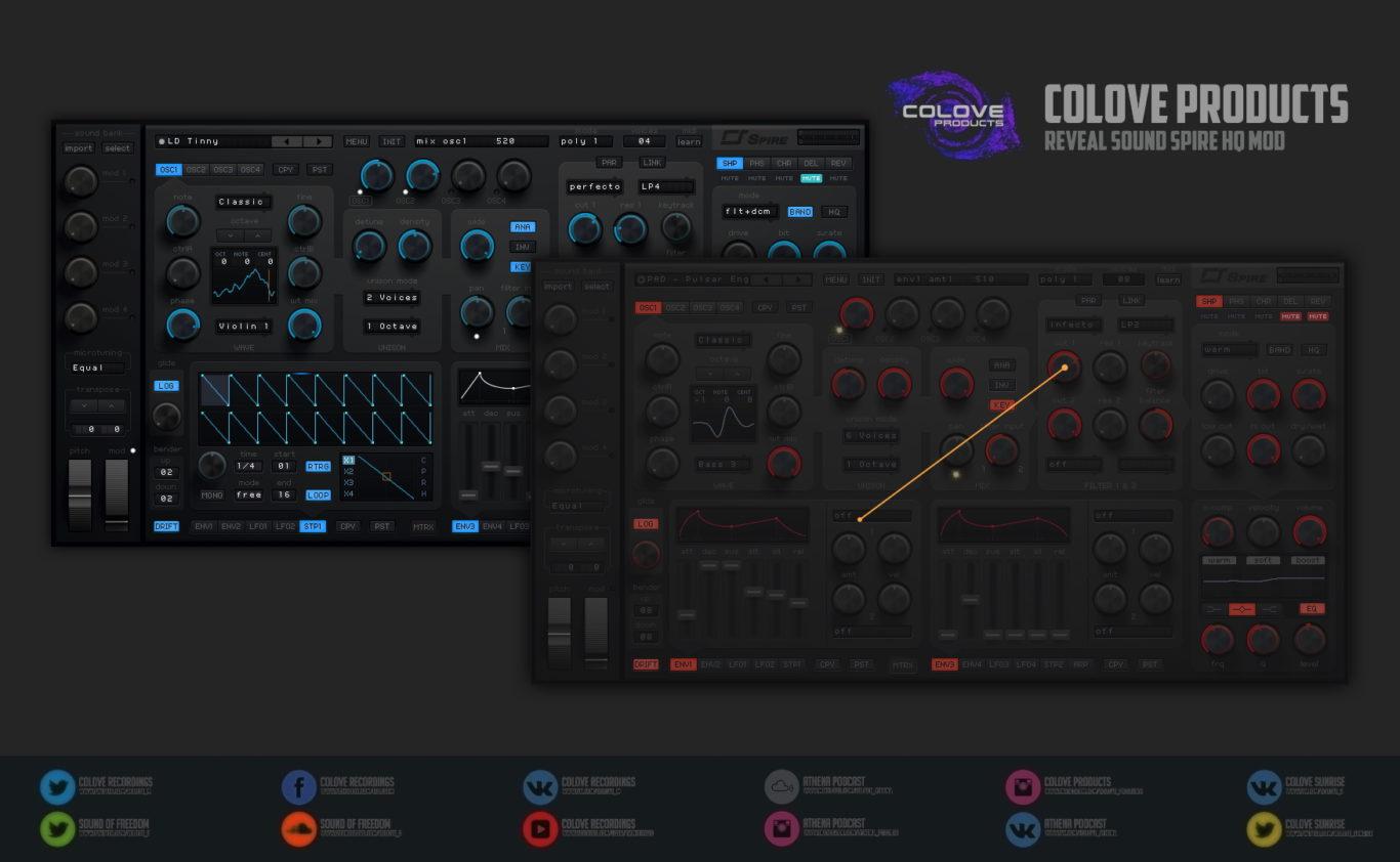 Reveal Sound – Spire HQ v1.5 (Windows/Mac/4 Skins/2 Modifications)