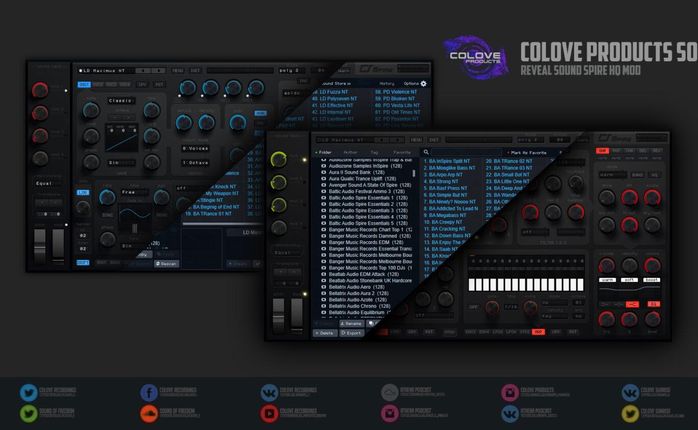 Reveal Sound – Spire HQ v1.6.1 (Windows/Mac/4 Skins/2 Modifications)