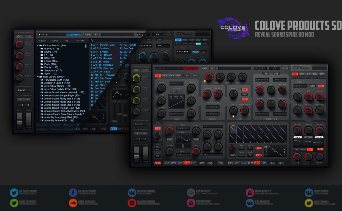 Reveal Sound – Spire HQ v1.7 (Windows/Mac/4 Skins/2 Modifications)