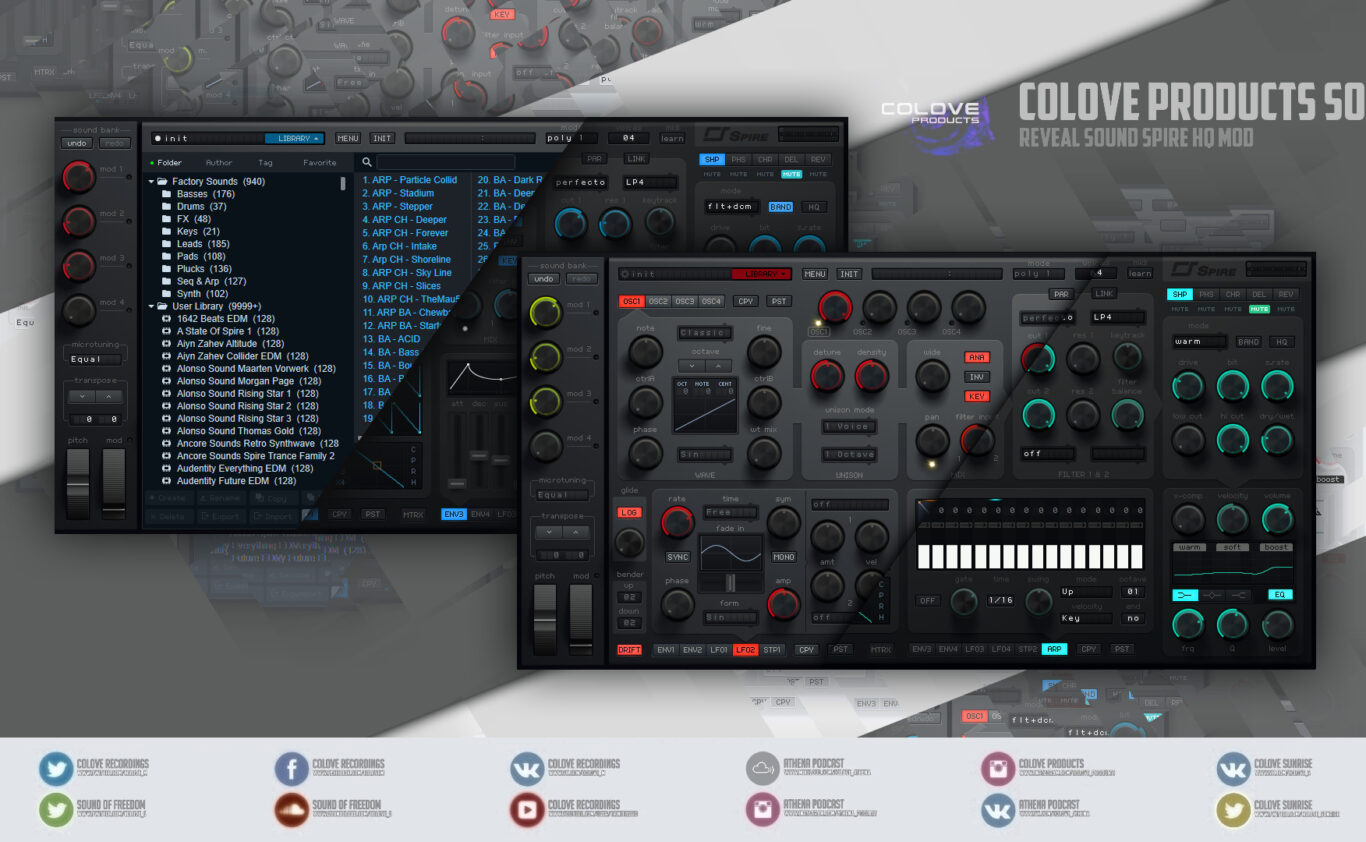 Reveal Sound – Spire HQ v1.7.2 (Windows/Mac/4 Skins/2 Modifications)