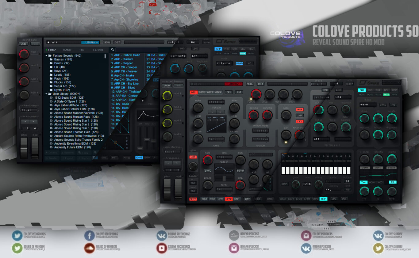 Reveal Sound – Spire HQ v1.7.3 (Windows/Mac/4 Skins/2 Modifications)